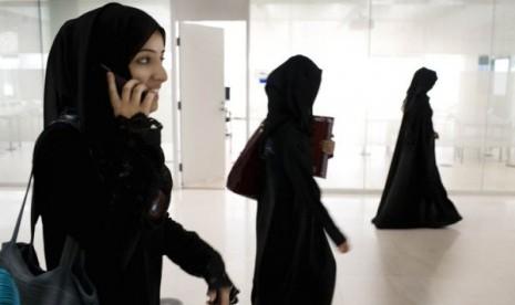 Perempuan Saudi/ilustrasi