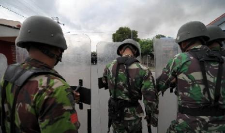 Personil TNI AD (ilustrasi).