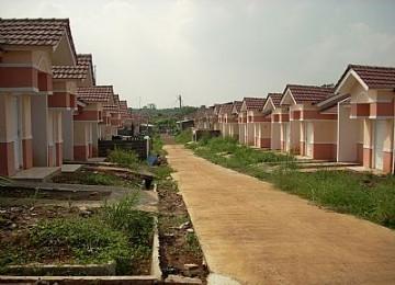 perumahan yang baru dibuat
