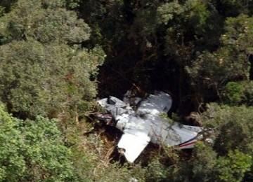 Pesawat cassa yang jatuh di Medan