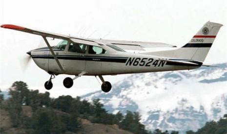 Pesawat Cessna (ilustrasi)