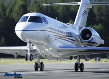 Pesawat jet pribadi (Ilustrasi).