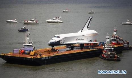 Pesawat luar angkasa enterprise as punya 'rumah baru'