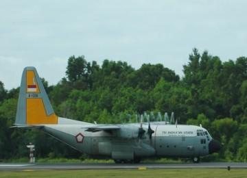 Pesawat Herkules TNI AU