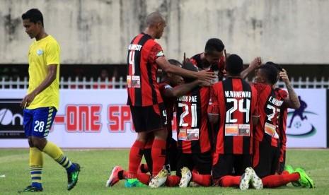 Persipura Bersiap Hadapi Dua Laga Tandang Liga 1