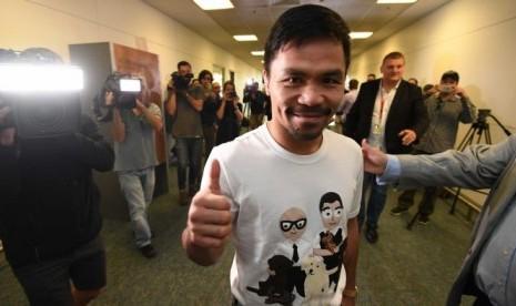 Manny Pacquiao Siap Bertarung di Australia