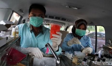 Dinkes Makassar Pastikan Jajanan Berbuka Bebas Bahan Berbahaya