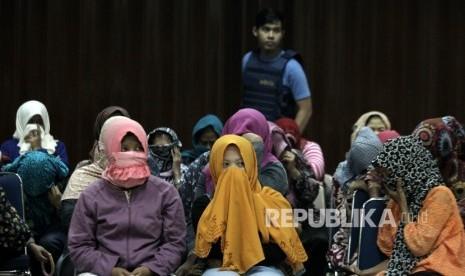 Malaysia Usir 470 TKI Ilegal ke Nunukan
