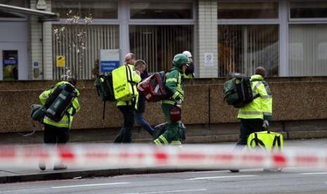 PM Inggris Kunjungi Korban Serangan Dekat Gedung Parlemen