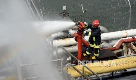 In Picture:  Simulasi Latihan ISPS Code Digelar di Tanjung Priok