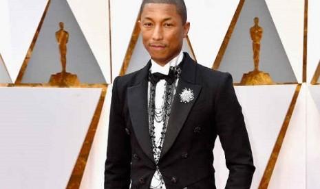 Mengintip Rahasia Awet Muda Pharrell Williams