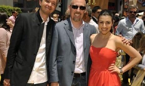Pierre Coffin (kiri) dan Chris Renaud, kedua sutradara