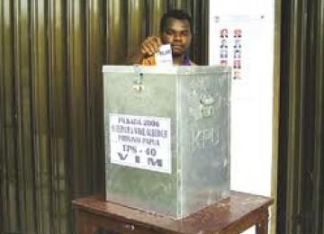pilkada Papua (ilustrasi)