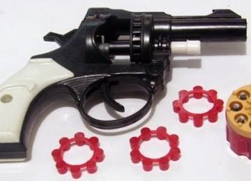Pistol mainan (ilustrasi)