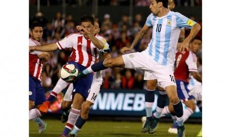 Tanpa Messi dan Aguero, Argentina Gagal Kalahkan Paraguay