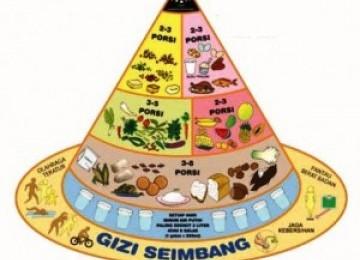 Pola konsumsi seimbang, mencegah gizi ganda (ilustrasi)