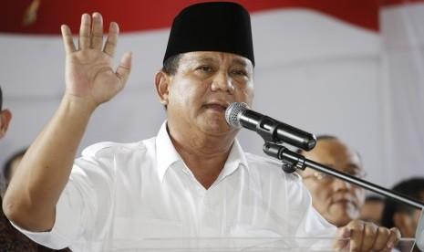 Ini Komentar Prabowo Soal Penahanan 'Tukang Sate'
