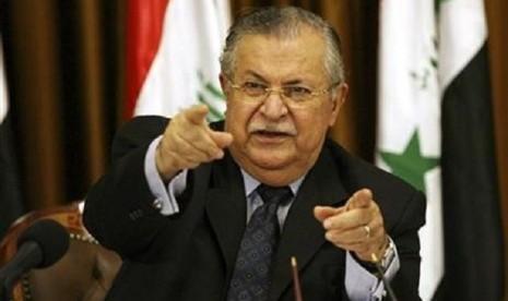 Presiden Irak, Jalal Talabani.