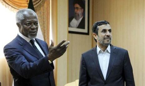 Kofi Annan: Iran Siap Lepas Assad
