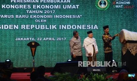In Picture: Presiden Jokowi Buka Kongres Ekonomi Umat 2017