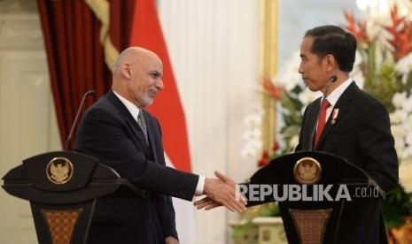 JK Sarapan dengan Presiden Afganistan