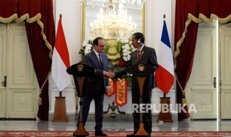 Indonesia-Prancis Fokus Isu Kemerdekaan Palestina