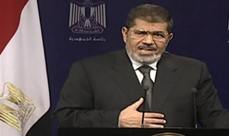 Kronologi Penggulingan Presiden Mursi