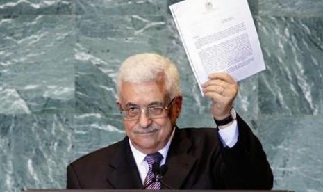 Abbas: Palestina Tuntut Peningkatan Status di PBB