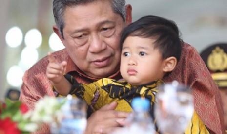 Presiden Republik Indonesia (RI) ke-6, Susilo Bambang Yudhoyono (SBY).