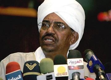 Presiden Sudan Omar Hassan Al-Bashir.
