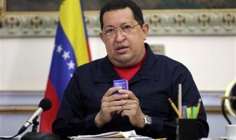Presiden Chavez Umumkan Kabinet Lewat Twitter