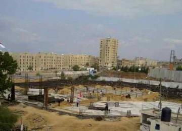 Proyek pembangunan RS Indonesia di Gaza.