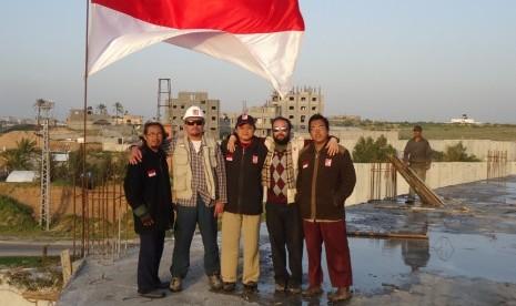 Tim Relawan Indonesia Tembus Blokade Gaza