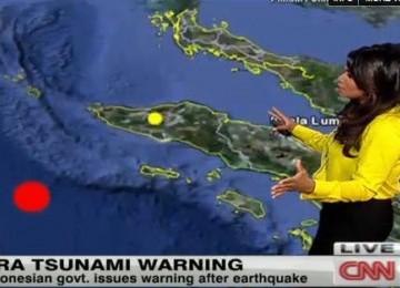 pusat gempa ada di 400 km barat laut aceh usgs bilang tak ada ancaman
