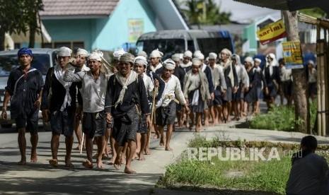 In Picture: Ribuan Warga Baduy Jalani Tradisi Seba Baduy 2017