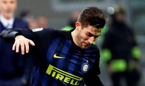Gagliardini Kenang Gol Pertamanya untuk Inter