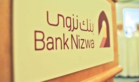 Salah satu bank syariah di Oman, Bank Nizwa
