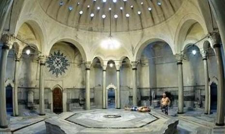 Salah satu hammam di Istanbul, Turki.