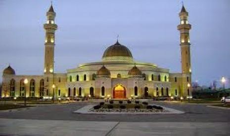 Salah satu masjid di Amerika