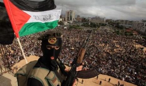 Salah satu pasukan Jihad Islam Palestina
