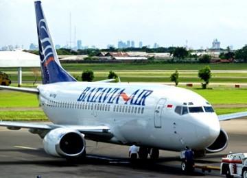 Salah satu pesawat milik maskapai Batavia Airlines.