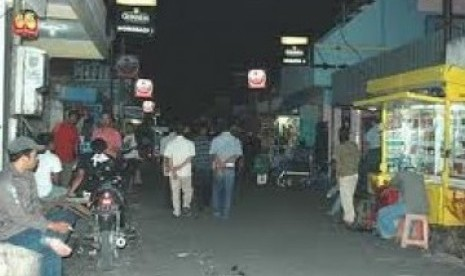 Salah satu sudut Gang Dolly, di Surabaya, Jawa Timur.