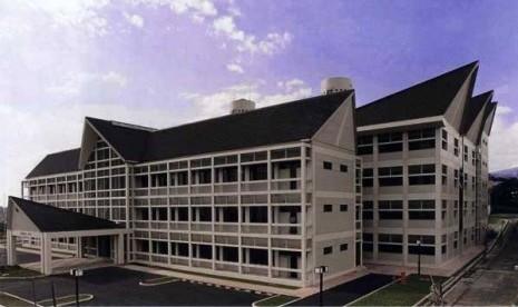 Salah satu sudut kampus Universitas Pendidikan Indonesia (UPI) Bandung.