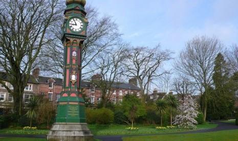 Salah satu sudut Kota Dorchester, Inggris.