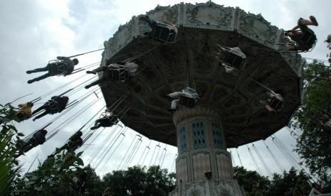 Salah satu wahana di Dunia Fantasi (Dufan), Ancol, Jakarta