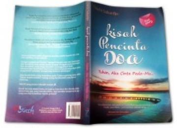 Sampul depan buku Kisah Pencinta Doa