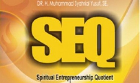 Sampul depan buku Spiritual Entrepreneurship Quotient (SEQ).