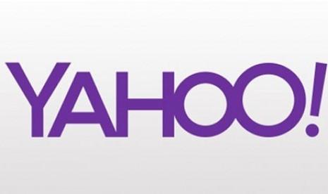 Satu dari 30 contoh logo Yahoo yang akan dibocorkan selama sebulan ...