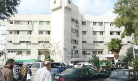Sebuah rumah sakit di Kota Gaza, Palestina. (ilustrasi)
