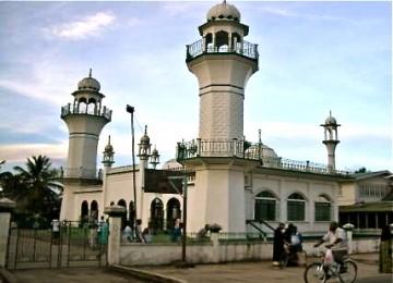 Sebuah masjid di Guyana